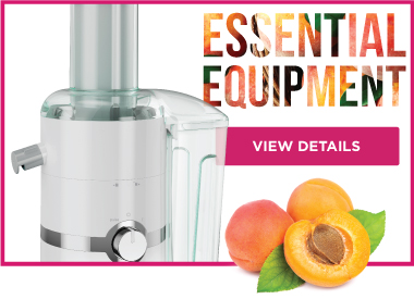 Essential Equipment Juicing Peaches JM3000
