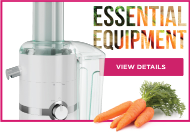 Essential Equipment Juicing Carrots JM3000