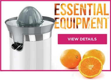 Essential Equipment Juicing Oranges JCJ450